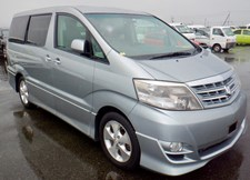 Toyota Alphard IN TRANSIT FROM JAPAN
