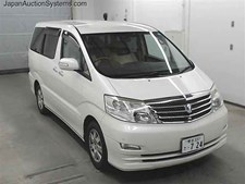 Toyota Alphard 2.4 ltr - White 25 NOW SOLD